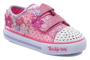 girls skechers twinkle toes