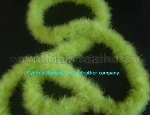 """15g Colors and Patterns to pick up From 72/"""" Long Marabou Feather Boa 30"""