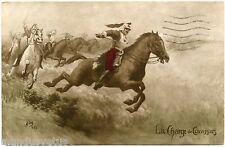 GUERRE. WAR. LA CHARGE DE CUIRASSIERS.  MUG. CHEVAL. HORSE. SOLDIERS.