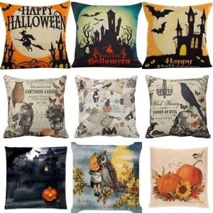 Halloween-Happy-Pillow-Cases-Linen-Sofa-Bedroom-Office-Cushion-Covers-Home-Decor