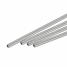 304 Stainless Steel Round Tube 4mm Od 05mm Wall Thickness 300mm Length 4 Pcs