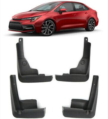 Details about  /New Set Splash Guards Mud Flaps Guards For 2019-2021 Toyota Corolla E210 Sedan