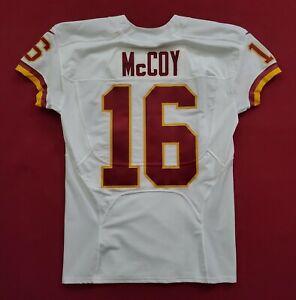 #16 Colt McCoy of Washington Redskins NFL Locker Room Game Issued Jersey