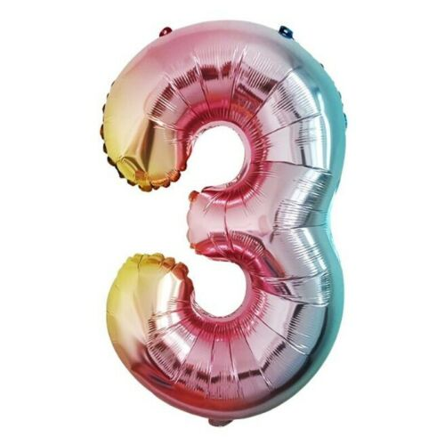 """32/"""" 40/'/' Foil Number Balloons Self Inflating Birthday Age Party Wedding Decor"""