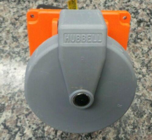 Hubbell HBL4100R12W 100-Amp Receptacle 100A 125//250V 3P 4W 116726-5 AO N4 FF-4