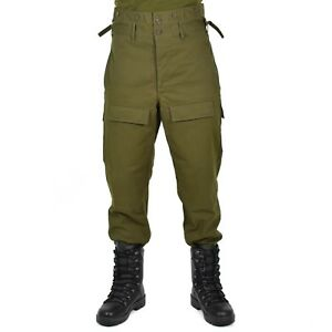 Genuine-CZ-czech-army-combat-pants-M85-O-D-olive-military-trousers