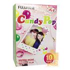 FUJIFILM FUJI INSTAX MINI Instant FILM 1 PACK / Candy Pop 4 8 sp2 25 90 50S SP-1