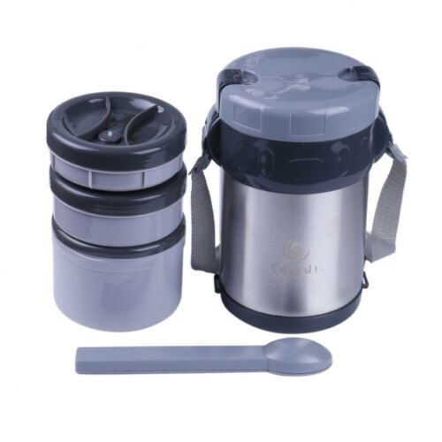 Dieting Meal Prep Lunch Box Japanese Style Bento Hot Food Vacuum Flask