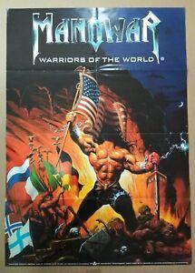 Manowar-WARRIORS-OF-THE-WORLD-PoSTER-60cm-X-90cm