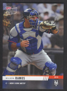 Topps-Now-Road-To-Opening-Day-2019-Wilson-Ramos-New-York-Mets-PR-306