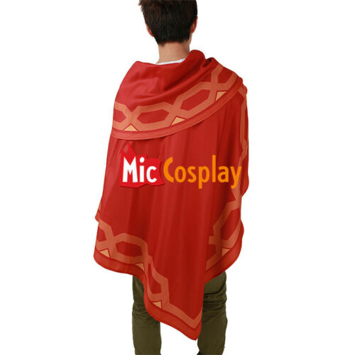 Jesse McCree Cloak Mantle Cosplay Red Poncho Cape
