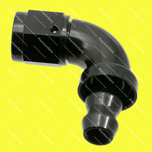 AN6-6AN-JIC-90-DEGREE-PUSH-ON-LOCK-SOCKETLESS-FUEL-OIL-HOSE-END-FITTING-BLACK