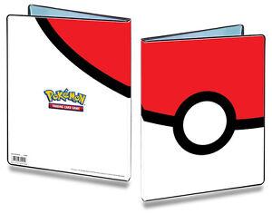9-Pocket-Iconic-Pokeball-Pokemon-180-Card-Cap-Album-Storage-Portfolio-Folder
