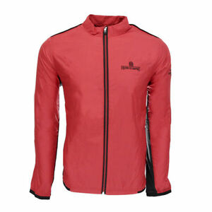 Details about Adidas Climaproof Running Jacket (L) Red