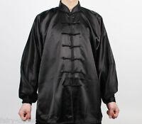 Wushu Taichi Kungfu Uniform Suit Tai Chi Chuan Uniforms Kung Fu Chinese Black