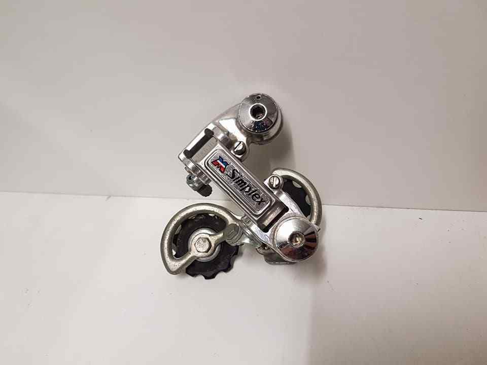 NOS MOTOBECANE SIMPLEX REAR DERAILLEUR VINTAGE MADE IN FRANCE 274gr