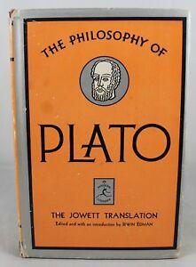 The-Philosophy-Of-Plato-The-Jowett-Translation-by-Irwin-Edman-Modern-Library