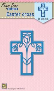 Nellie SNELLEN Troqueles Forma azul flores de pascua Cruz Talla 65x85mm SDB014