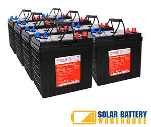 AGM Deep Cycle Battery Bank 12V 24V 48V Off Grid Solar ... |Off Grid Batteries