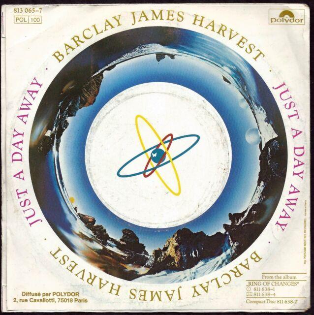 DISQUE VINYLE 45 T- BARCLAY JAMES HARVEST