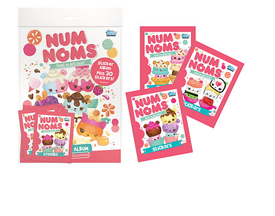 Topps Num Noms Stickers 50 Sealed Packets