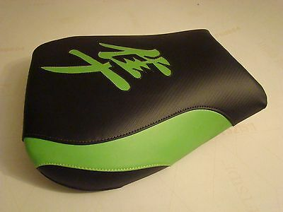 HAYABUSA 1999/00/01/02/03/04/05/06/2007 GSXR1300 FRONT SEAT COVER BLACK/GREEN