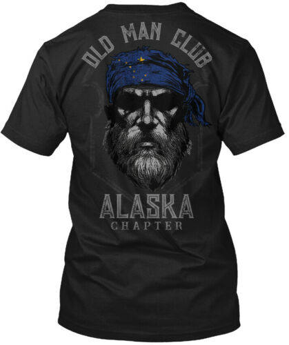 Chapter Hanes Tagless Tee T-Shirt Old Man Club Alaska