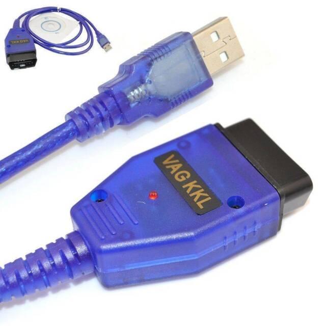 NEW VAG-COM KKL 409.1 OBD2 USB Cable Scan-ner Tunning Flash Subaru Audi VW, SEAT