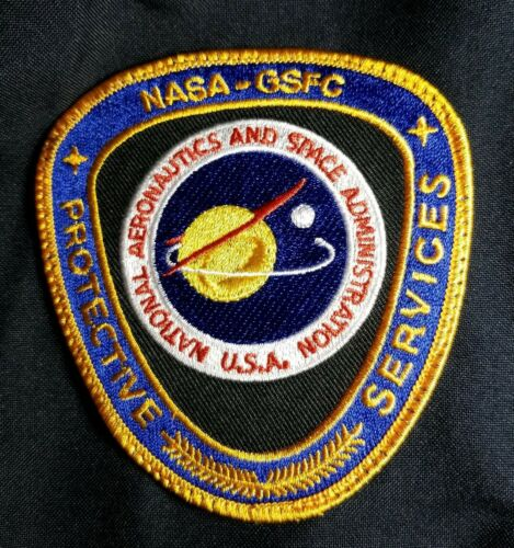 Flag NASA PROTECTIVE SERVICES Patch National Aeronautics /& Space Admin