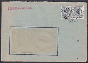 SBZ-BZH-170-IV-Paar-Hettstedt-MeF-Firmen-Brief-geprueft-Dr-Modry-BPP-1948