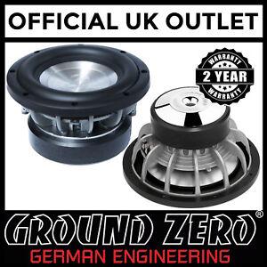 Ground-Zero-Hydrogen-GZHW-20X-8-034-20cm-400-Watts-RMS-2-x-2Ohm-Car-Sub-Subwoofer