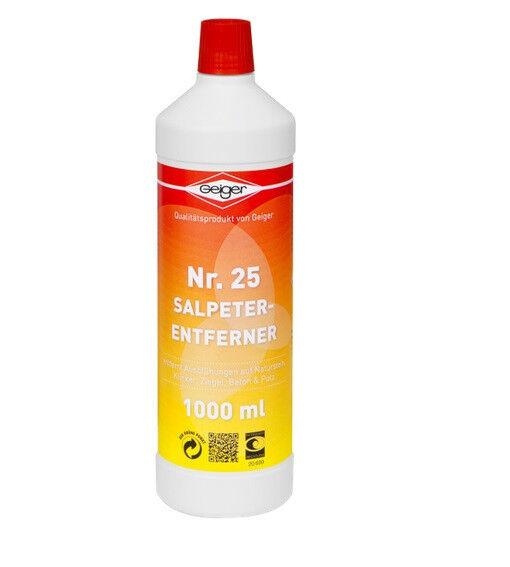 Geiger Nr.25 Salpeterentferner 5 Liter -zum Entfernen von Ausblühungen