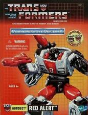 NEW SEALED - TRANSFORMERS G1 GENERATION 1 - RED ALERT TRU REISSUE - U.S. SELLER!
