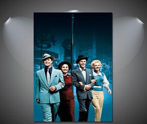 A3 A2 A4 sizes A1 Frank Sinatra Vintage Art Deco Poster