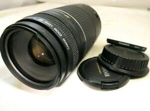 Canon-Ef-75-300mm-F4-5-6-III-USM-Lentille-pour-Digital-Rebel-Cameras-Zoom