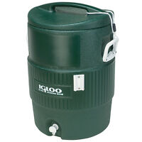 Igloo 10 Gallon Green Cooler on sale