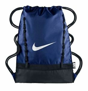 c420a4d1a2 Image is loading Nike-BRASILIA-7-GYMSACK-Deep-Royal-Blue-White-