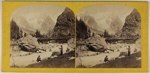 Courmayeur-Italia-Foto-W-Inghilterra-Stereo-L53S1n32-Vintage-Albumina-c1865