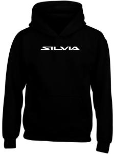 Nissan Silvia Hoodie Personalised Funny Birthday Gift Logo