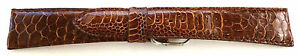 20mm-FLEURUS-DARK-BROWN-GENUINE-ROOSTER-LEATHER-HAND-MADE-WATCH-BAND-STRAP