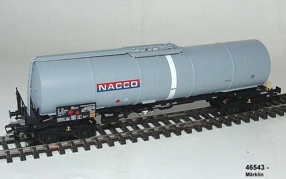 Märklin 46543-05 - Petroleum Oil Tank Car the Type Zans. Der Fa. Nacco