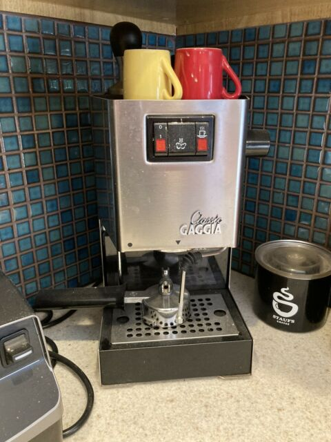 Gaggia Classic Espresso Machine, Modded Steam Wand, Used ...