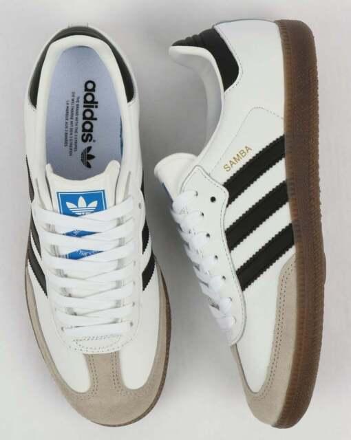 Adidas Samba OG Trainers White/Black