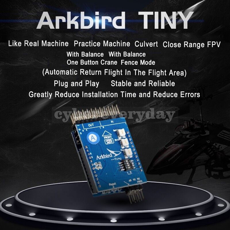 ARKBIRD Tiny Flight Controller GPS Fixed-Wing FPV Returning Function Balance