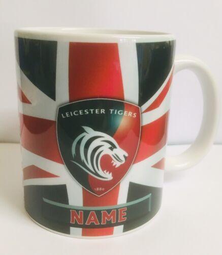 Personalised Leicester Tigers Mug