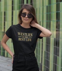 WESTLIFE-IS-THE-BEST-LIFE-CONCERT-TOUR-T-SHIRT-TOP-WOMENS-LADIES-UK-SIZES-911S