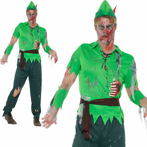 image is loading adult zombie peter pan lost boy costume halloween