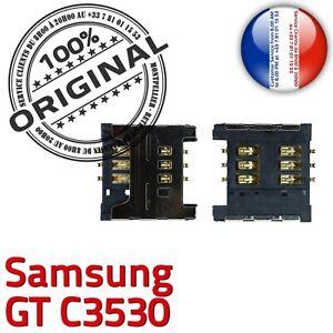 ORIGINAL-Samsung-GT-c3530-Connecteur-Carte-SIM-a-souder-Lecteur-Reader-SLOT