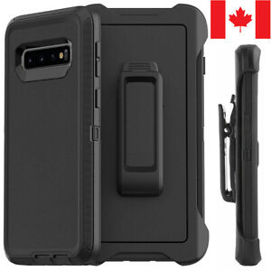For-Samsung-S8-S9-S10-Plus-S10e-Defender-Case-Hybrid-Cover-Fit-Otterbox-Clip