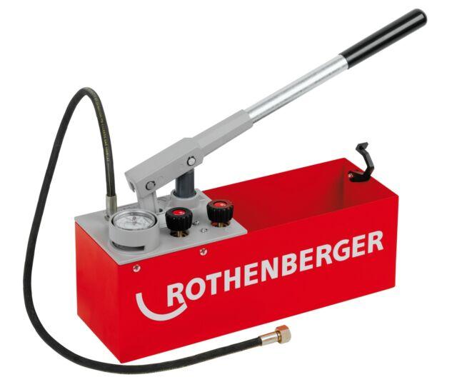 Rothenberger Präzisionsprüfpumpe für Druckprüfung bis 60 bar Prüfpumpe RP50-S